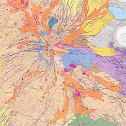 Volcanic Land Condition Map( Mt. Fuji )